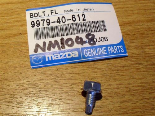 Bolt, water pump pulley, FPR, Mazda MX-5, 997940612